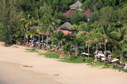Khao Lak Beach at Khao Lak-Lam Ru National Marine Park, Phang-Nga