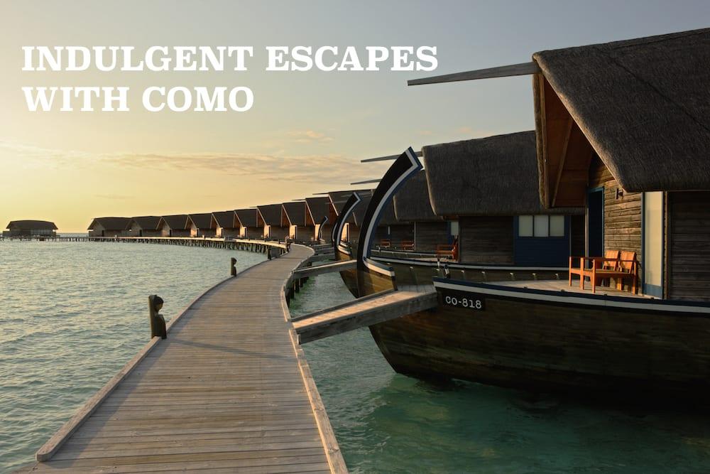 uniq luxe COMO cocoa island massage sitting yoga retreat resort wellness detox luxury holiday pilates