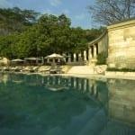 Amanjiwo Pool Borobudur Yogyakarta Indonesia Luxury Getaway Holiday Uniq Luxe