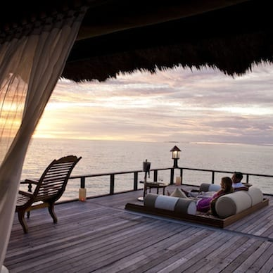 Utmost Relaxation Banyan Tree Vabbinfaru Maldives Honeymoon Getaway Holiday