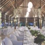 cocoa island maldives luxury resort wedding dinner