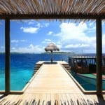 six senses laamu deck maldives uniqluxe flip n flop escape