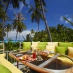 Breakfast Nook Gili Lankanfushi Maldives Honeymoon Holiday Getaway Uniq Luxe