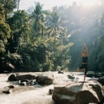 Yoga by the Ayung River COMO Shambhala Estate Bali Indonesia Luxury Getaway Holiday Uniq Luxe