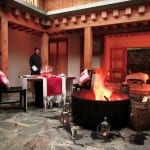 Outdoor Restaurant Uma by COMO Paro Bhutan Luxury Getaway Holiday Uniq Luxe
