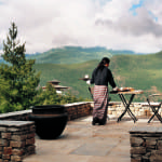 Terrace Uma by COMO Paro Bhutan Luxury Getaway Holiday Uniq Luxe