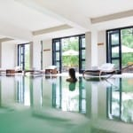 Indoor Pool Uma by COMO Paro Bhutan Luxury Getaway Holiday Uniq Luxe