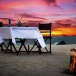 Sandbank Dining Banyan Tree Madivaru Maldives Honeymoon Getaway Holiday Uniq Luxe