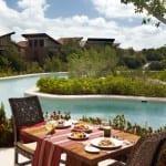 Breakfast View Banyan Tree Mayakoba Mexico Luxury Holiday Getaway Retreat Uniq Luxe