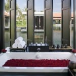 Bath With a View Nam Hai Resort Hoi An Vietnam Luxury Getaway Holiday Uniq Luxe