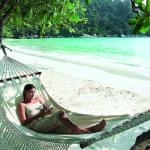 Beachside Hammock Pangkor Laut Resort Island Malaysia Luxury Holiday Getaway Retreat Uniq Luxe