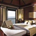 Sea Villa Bedroom Pangkor Laut Resort Island Malaysia Luxury Holiday Getaway Retreat Uniq Luxe