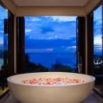 Bathroom with Ocean View Paresa Phuket Thailand Luxury Getaway Holiday Uniq Luxe
