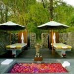 Outdoor Spa Pulau Moyo Island Indonesia Luxury Getaway Holiday Uniq Luxe