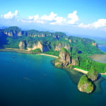 Rayavadee Aerial View Krabi Thailand Holiday Retreat Luxury Getaway Holiday Uniq Luxe