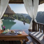 Breakfast at Pool Viceroy Bali Ubud Thailand Luxury Getaway Holiday Uniq Luxe