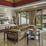 Deluxe Terrace Bedroom Viceroy Bali Ubud Thailand Luxury Getaway Holiday Uniq Luxe