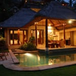 Night View Viceroy Bali Ubud Thailand Luxury Getaway Holiday Uniq Luxe