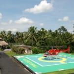 Helipad Viceroy Bali Ubud Thailand Luxury Getaway Holiday Uniq Luxe