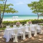Beachside Wedding Dinner Vana Belle Koh Samui Thailand Luxury Getaway Holiday Uniq Luxe