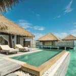 Maalifushi Maldvies resort private pool in overwater villa Luxury Holiday Retreat Getaway Honeymoon Uniq Luxe