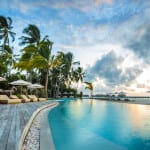 Maalifushi by COMO Maldives resort main beach pool Luxury Holiday Retreat Getaway Honeymoon Uniq Luxe