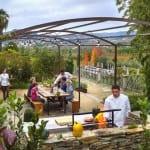 Six Senses Douro Valley Barbecue Pit Luxury Holiday Getaway Retreat Uniq Luxe