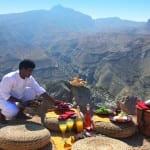 mountain picnic Zighy Bay Oman Uniq Luxe Uniqluxe Luxury Travel Holiday Retreat Six Senses