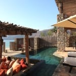 Pool front villa Zighy Bay Oman Uniq Luxe Uniqluxe Luxury Travel Holiday Retreat Six Senses