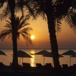 Sunrise at beach Zighy Bay Oman Uniq Luxe Uniqluxe Luxury Travel Holiday Retreat Six Senses
