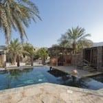 villa pool Zighy Bay Oman Uniq Luxe Uniqluxe Luxury Travel Holiday Retreat Six Senses