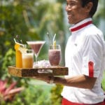 Panacea Koh Samui Luxury Resort Beach Wedding Drink Healthy Smoothies