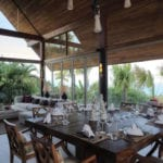 Panacea Koh Samui Luxury Resort Beach Wedding Enjoy Meals at Kalya Dining