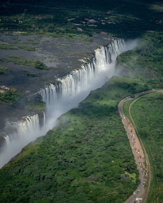 The magnificent Victoria Falls is another remarkable feature of Africa