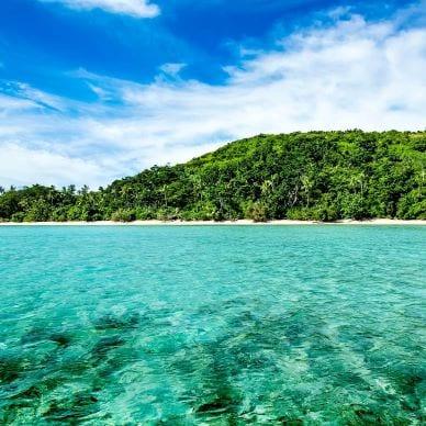 An island getaway