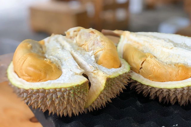 Smelly but tasty, durians are a must-try on your luxury Singapore travels