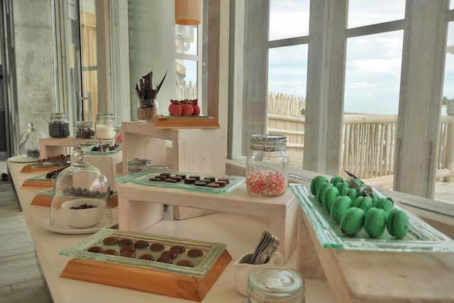 An array of sweet treats can be found in Soneva Jani's Chocolate Room - a sweet addition to an island resort experience
